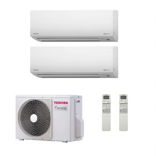 Toshiba Air Conditioning RAS-2M14S3AV-E Multi Room Inverter Heat pump 2 x Suzumi 3.5Kw/12000Btu A++ 240V~50Hz
